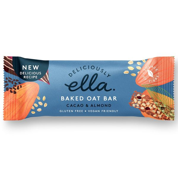 Cacao & Almond Oat Bar 50g