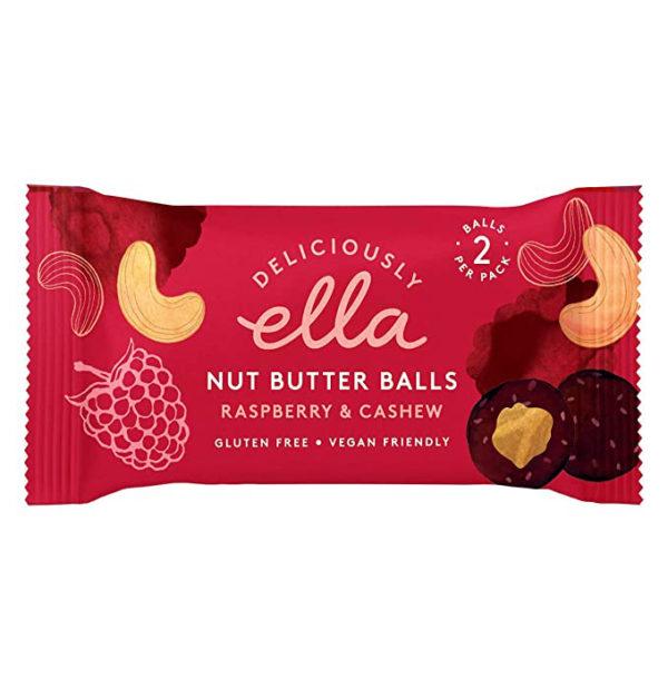 Raspberry & Cashew Nut Butter Balls 36g