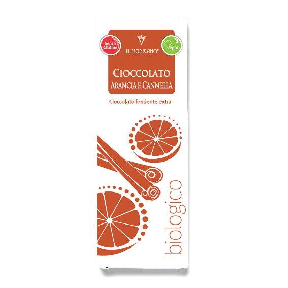 Orange & Cinnamon Chocolate Bar 60g