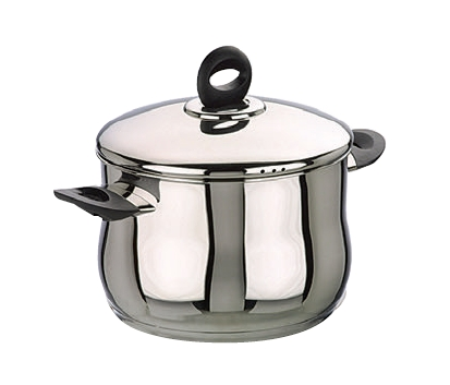 Stock Pot Belly Shape with Lid Bali 20cm - IBI0660220