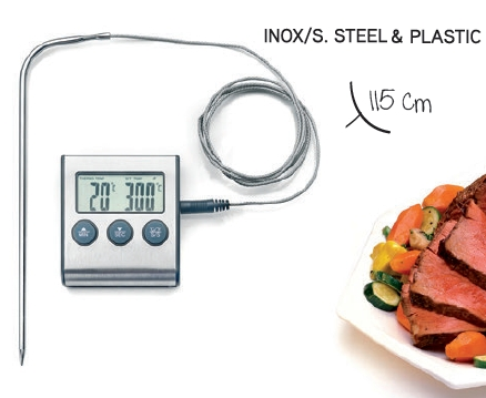 Digital/Magnetic Thermometer with Probe - IBI0743405