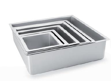 Square Extra Deep Cake Pan 20cm - IBI0815220