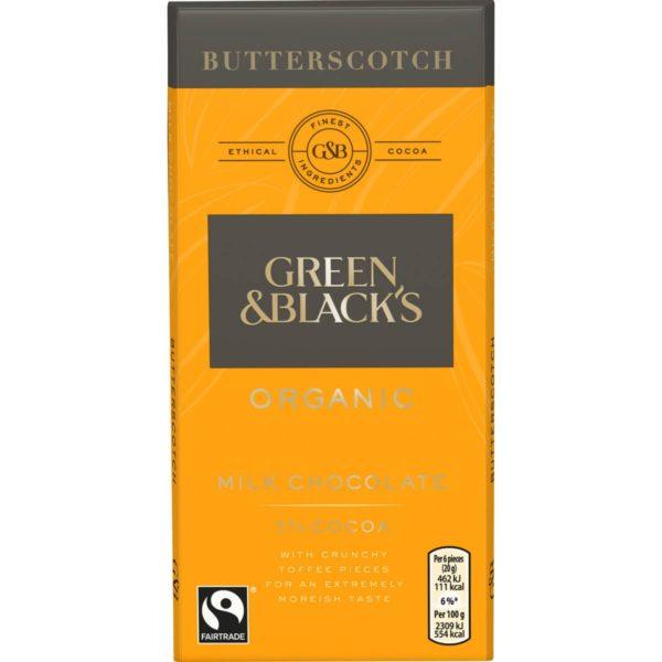 Organic Butterscotch Chocolate