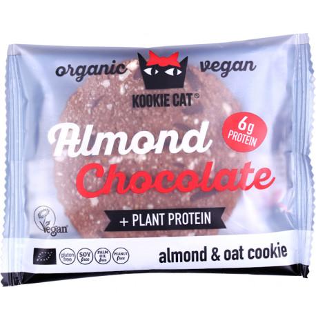 Almond Chocolate Organic Cookies 50g