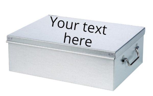 Personalized Metal Box